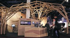 EXHIBITOR magazine - Article: 24th Annual Exhibit Design Awards: House of Cardboard, May 2010