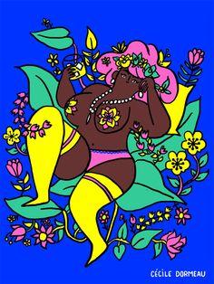 Women-illustrations-cecile-dormeau