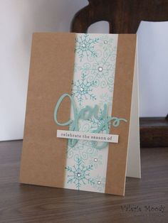 Stampin' Up! - Endless Wishes - Christmas Cards - Stamping With Val - Valerie Moody; Independent Stampin' Up! Demonstrator. X