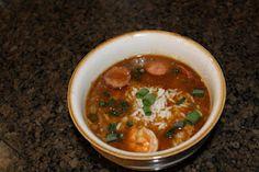 Louisiana Shrimp And Sausage Gumbo