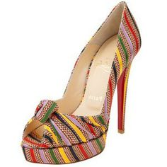 The cutest Louboutin shoes I've ever seen.