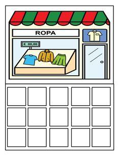 10.juego simbolico comprar en las distintas tiendas usando lista de l…