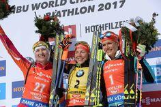Hochfitzen. Febr. 12.2017. Gold, silver and bronce.