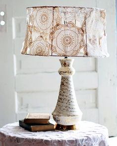 Orsa Maggiore Vintage: What to do with crochet doilies?!