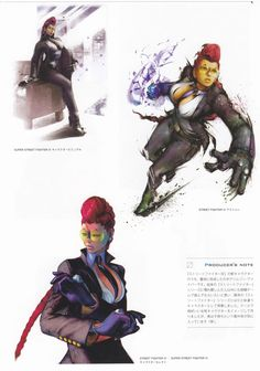 Crimson Viper - Street Fighter 4