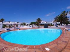 Playa Park Bungalow for rent in Puerto del Carmen - €300 p/w  - advertised on DoneDeal.ie