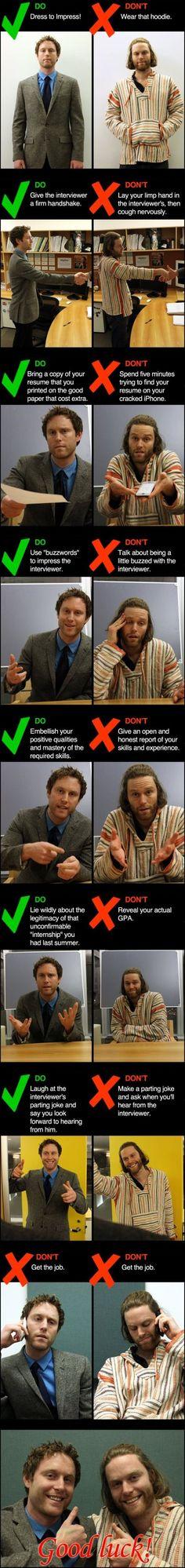 Job Interview Etiquette Tips