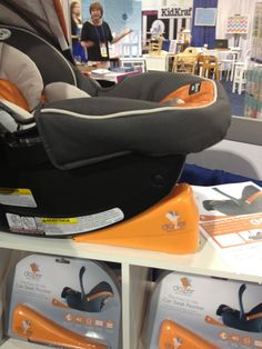 The Dozer — a battery-operated device that rocks car seats so mom and dad can give their arms a rest.