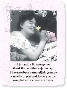 Fun & Laughs Card - But since I'll be getting out of bed soon, I may need help.   Maggie Mae Sharp   92229   Leanin' Tree