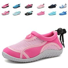 da9f455bd4f7 CIOR Toddlers Water Shoes Aqua Socks Athletic Swim Pool Beach Sports Quick  Drying for Baby Boys and Girls(Toddler Little Kid Big