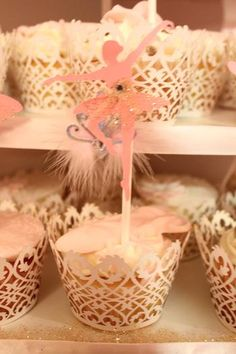 Hostess with the Mostess® - Ballerina Theme Baby Welcome #hwtm #ballerinaparty