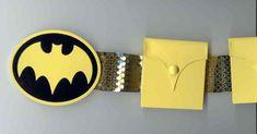 DIY Bat Girl belt