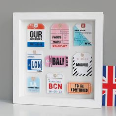 Travel Tag Artwork, Not On The High Street