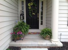 Front porch ..I just think ferns work everywhere