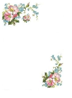 Flower Backgrounds, Wallpaper Backgrounds, Iphone Wallpaper, Wallpapers, Eid Cards, Printable Designs, Printables, Watercolor Painting Techniques, Borders For Paper