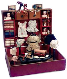 Boxed Seamstress Toy Set, French