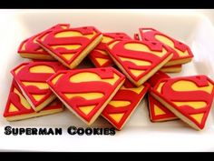 Project 37 Part II: Superman Cookies …