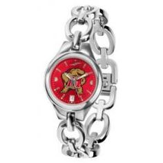 Maryland Terrapins Eclipse Ladies Watch - AnaChrome Dial