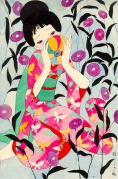 Seiichi Hayashi #watercolor  #illustration