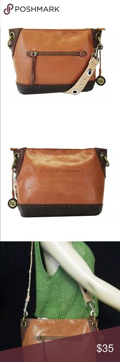 The Sak Kendra Brown Leather Bag The Sak Kendra Brown Leather Hobo Bag The Sak Accessories