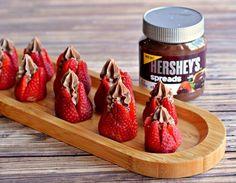 Chocolate Stuffed Strawberry