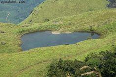 Heart shaped lake - Kalpetta, Kerala