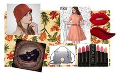 """50"" by tichia-b on Polyvore featuring moda, KAS, Kat Von D y Lime Crime"