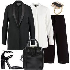 Anello d oro  outfit donna Trendy per ufficio  52ecd049f64