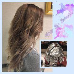 #hairbybrooke #guytangmetallics #balayage #dustylavender #layeredcut #kenrametallics #violetmetallic #silvermetallic #bronzemetallic