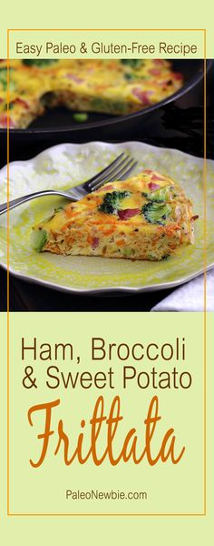 Easy-to-make, fully-loaded, paleo power Breakfast Frittata. Packed with nutrition and tastes amazing! #paleo #glutenfree