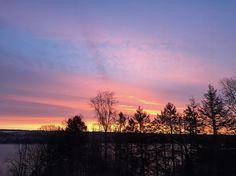 Sunrise (and Sunset) #Photo Series In Upstate New York - @muz4now
