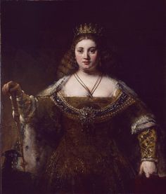 JUNO, 1665 - Rembrandt (goddess protectress of women and marriage)