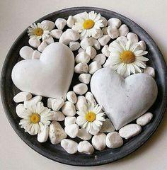 Summer Love - Hearts & Daisies