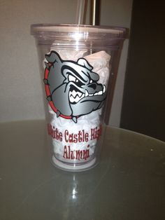 Custom Personalized School Spirit and Other Acrylic Tumblers on Etsy, $12.00