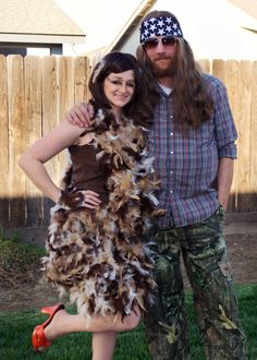 diy duck dynasty costumes willie robertson and the duck he couldnt - Jase Robertson Halloween Costume