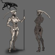 Female Panthabot Concept, Female, Art, Art Background, Kunst, Performing Arts, Art Education Resources, Artworks