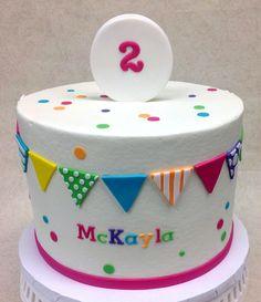 Confetti & Pendants Birthday Cake