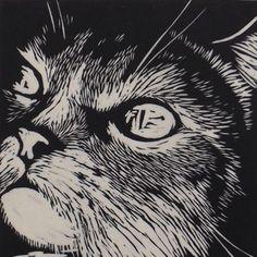 Pin by sylvia s on ideas for printmaking линогравюра, гравюр Art And Illustration, Mc Bess, Linocut Prints, Art Prints, Block Prints, Animal Gato, Scratchboard, Art Graphique, Wood Engraving