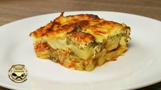 Greek Recipes, Quiche, Oven, Food And Drink, Tasty, Dinner, Cooking, Breakfast, Simple