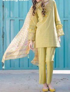My Dressing Style: Casual Style . Pakistani Style kira n bra. Simple Pakistani Dresses, Pakistani Fashion Casual, Pakistani Dress Design, Pakistani Outfits, Indian Fashion, Fashion Fashion, Fashion Ideas, Pakistani Bridal, Stylish Dresses For Girls