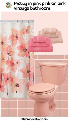 Gallery For Website  ideas to decorate a pink bathroom Complete slide show