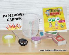 Ina i Sewa: 60 Eksperymentów dla dzieci - zestawienie Liquid Measuring Cup, Measuring Cups, Science, Diy, Bricolage, Measuring Cup, Do It Yourself, Homemade, Measuring Spoons