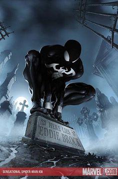 The Sensational Spiderman # 8 - Back In Black cover
