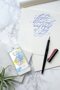 For your phone | Joy with Lamy pens