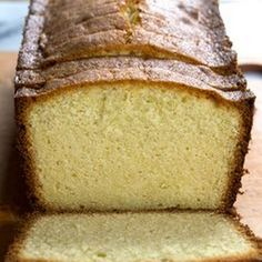 Low Carb LCHF Cream Cheese Pound Cake