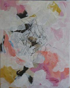 """""""Life is chaos, life is sweet"""" Acrylic on canvas 24x30"""" 9/2015 C.Millichamp"""
