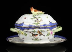 Herend Soup Tureen and Tray : Lot 9070  Hungary