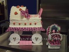Another Special Carriage Cake for a Special Mommy... This website is the Pinterest of birthday cake ideas