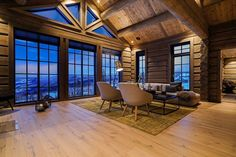 Winter Cabin, Cozy Cabin, Wooden Cottage, Mountain Cottage, Wooden Cabins, Cabin Interiors, Cottage Homes, House In The Woods, Home Interior Design