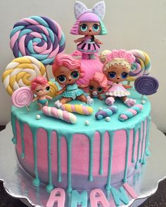1 million+ Stunning Free Images to Use Anywhere Doll Birthday Cake, Funny Birthday Cakes, 7th Birthday, Lol Doll Cake, Surprise Cake, Doll Party, Little Girl Birthday, Disney Cakes, Girl Cakes